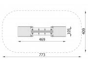 Log Bridge with 2 Ramps 5
