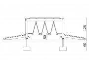 Block Bridge with 2 Ramps 4