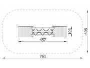 Block Bridge with 2 Ramps 5