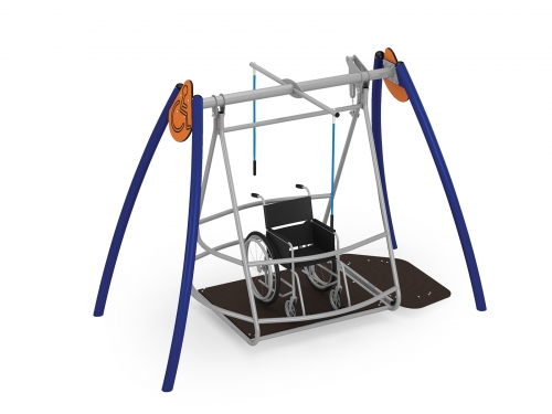 Integration A4K Swing - galvanized
