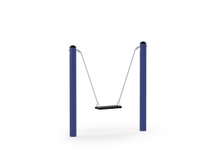 Mini Posts Swing with Straight Seat