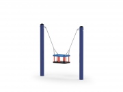 Mini Posts Swing with Basket 2