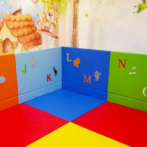 Padded Wall Mats With Alphabet