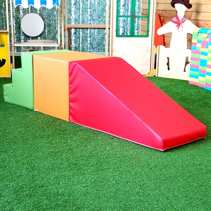 Moon Kids Softplay Ramp with Stairs