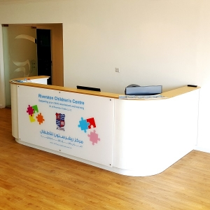Moon Kids Custom Made Reception Desk