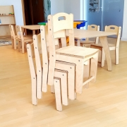 Moon Kids Stackable Chair