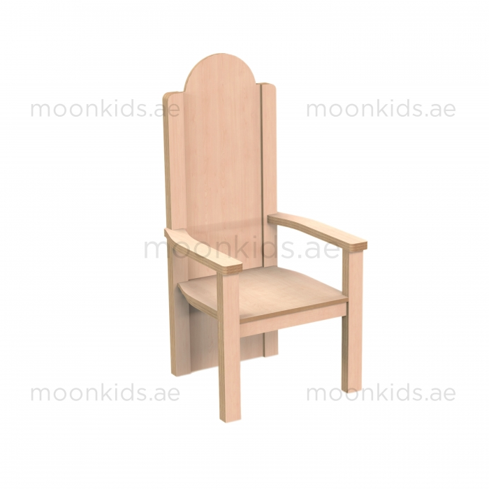 WOODEN STORYTELLING CHAIR