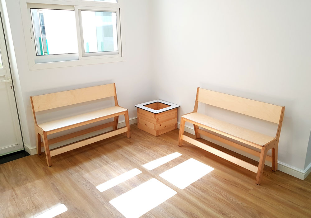 Moon Kids Project Riverston Benches