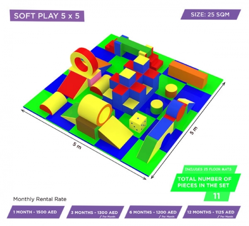 Moon Kids Soft Play Rental