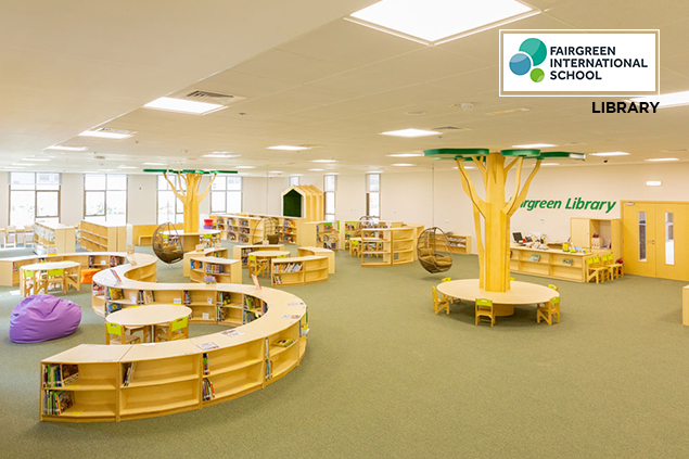 Fairgreen school library