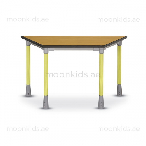 Moon Kids Secondary Class Room Trapezoid Table