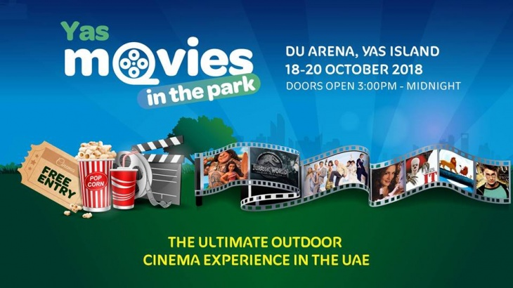 Moon Kids at Yas Movies in the Park