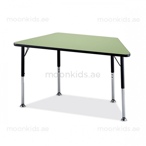 Secondary School Classroom Trapezoid Table