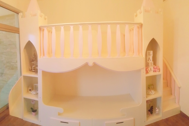 Moon Kids Home Project Castle Bed