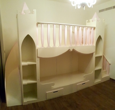 Moon Kids Home Showcases our Castle Bed