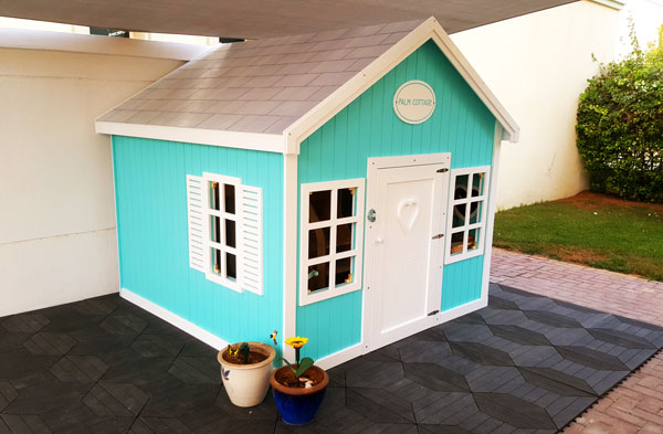 Palm Cottage @Home Playhouse in the Garden by Moon Kids