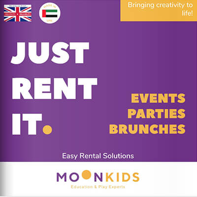Moon Kids Rental Flyer