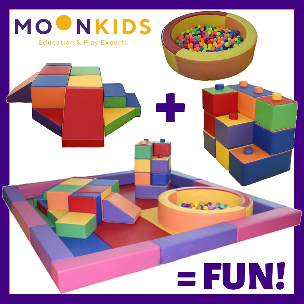 Pieces of Moon Kids Softplay to make the Set