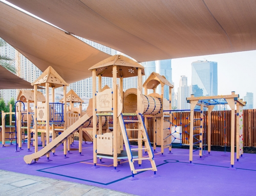 Developing The Human Senses With Kid's Playground Equipment