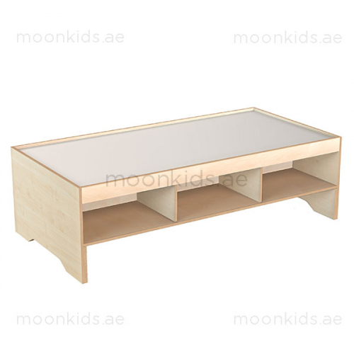 Play Table with Shelf