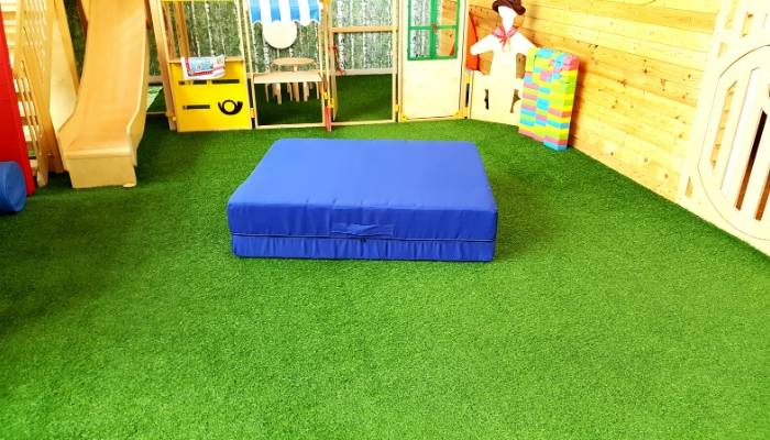 Artificial Grass Flooring at Moon Kids
