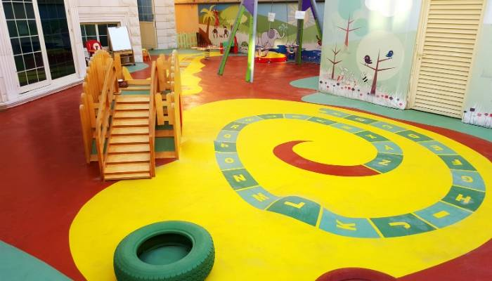PU Sports Surfaces at Moon Kids