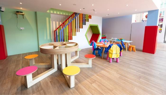 Vinyl Flooring at Moon Kids